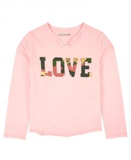 Camiseta Niña ZADIG & VOLTAIRE Love Camo