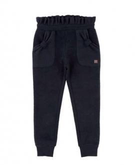 Pantalon Niña CARREMENT BEAU Marino Cintura Alta