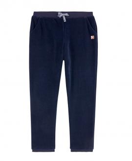 Pantalon Niña CARREMENT BEAU Terciopelo Marino