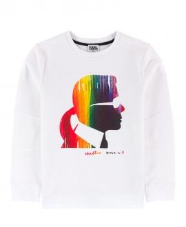 Sudadera Niño KARL LAGERFELD Perfil Multicolor