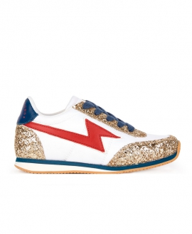 Zapatillas Niña LITTLE MARCA JACOB Glitter