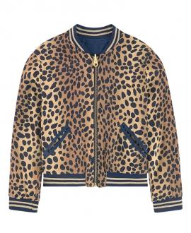 Cazadora Niña LITTLE MARC JACOB Leopardo Reversible
