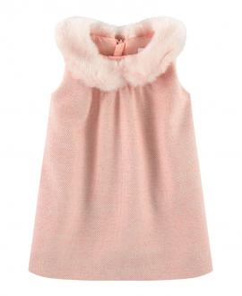 Vestido Bebé Niña CHLOÉ Collar Pelo