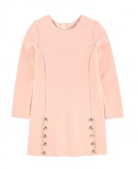 Vestido Niña CHLOÉ Rosa Botones