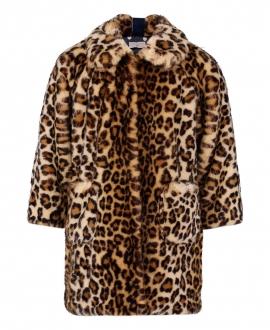 Abrigo Niña MONNALISA Largo Leopardo