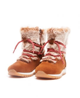 Botas Niña NOVEL WALK Camel