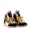 Botas Niña NOVEL WALK Cordones Amarillos