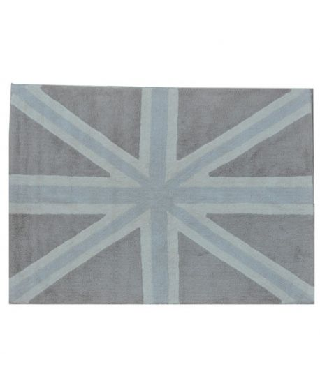 Alfombra Lavable Lorena Canals Flag Grey
