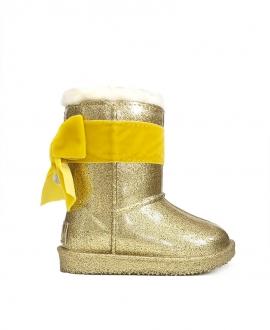 Bota Niña MONNALISA Oro Glitter