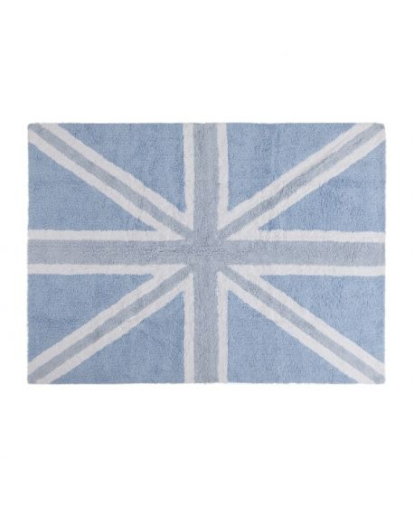 Alfombra Lavable Lorena Canals Flag England Baby Azul