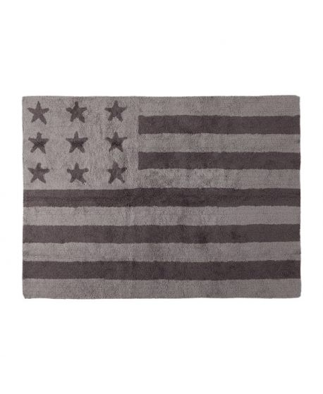 Alfombra Lavable Lorena Canals Flag American Baby Grey