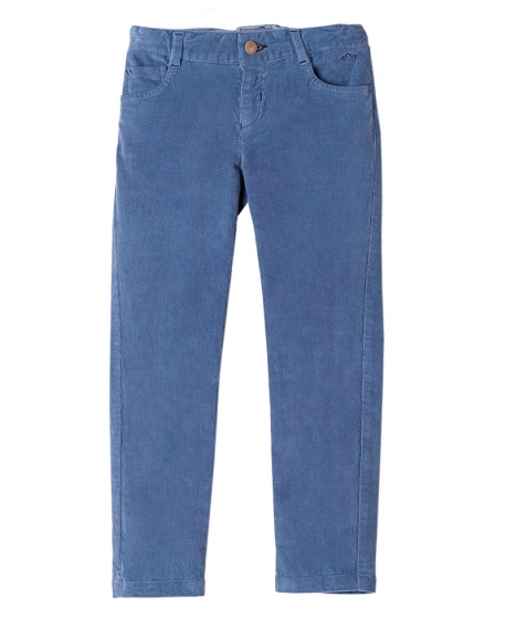 Pantalon Pana Azul Jeans NANOS Niño