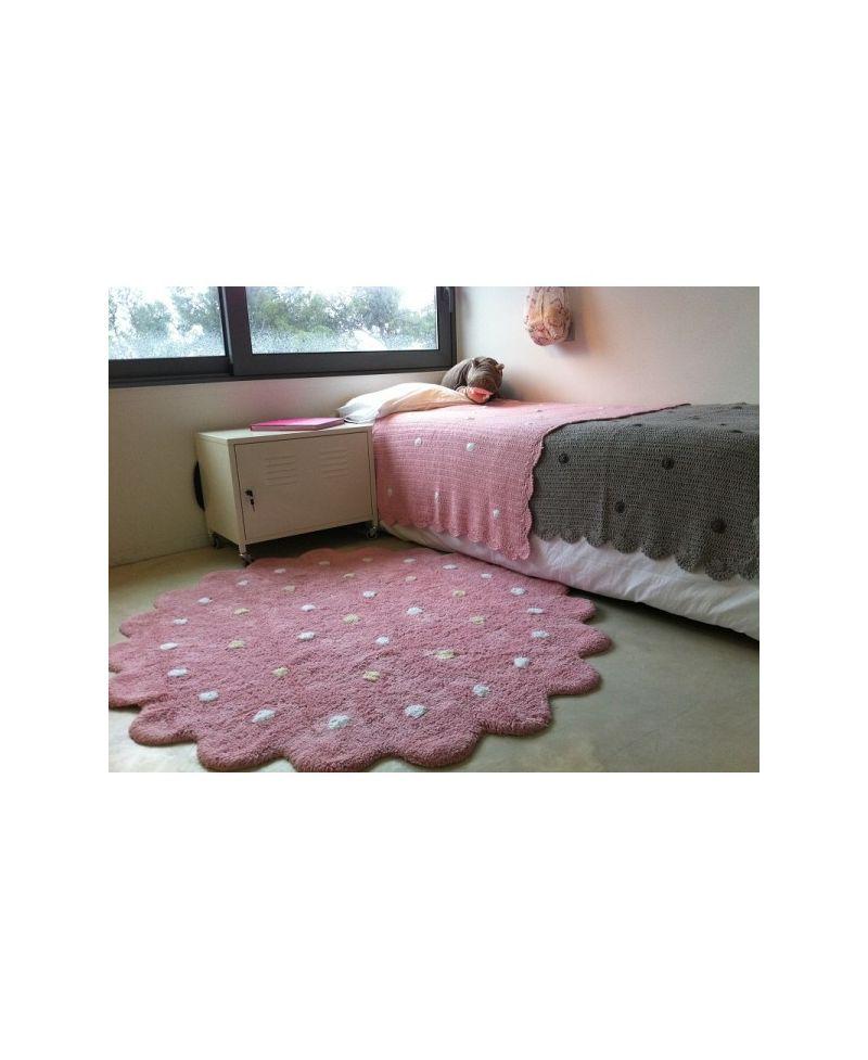 Alfombra lavable lorena canals galletita rosa ro infantil - Alfombras lavables lorena canals ...