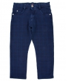 Pantalon Niño BUGATTI Azul Cuadros