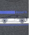 Camiseta Niño BUGATTI Gris Coche