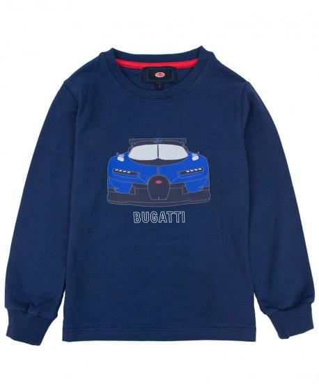 Camiseta Niño BUGATTI Azul Coche