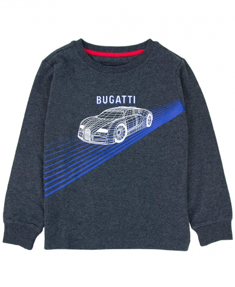 Camiseta Niño BUGATTI Gris Prototipo