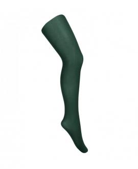Panty Niña CONDOR Microfibra 120 DEN Verde Botella