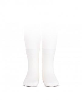 Calcetines Cortos CONDOR Punto Liso Blanco
