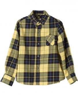 Camisa Viella Amarillo NANOS Niño Cuadros