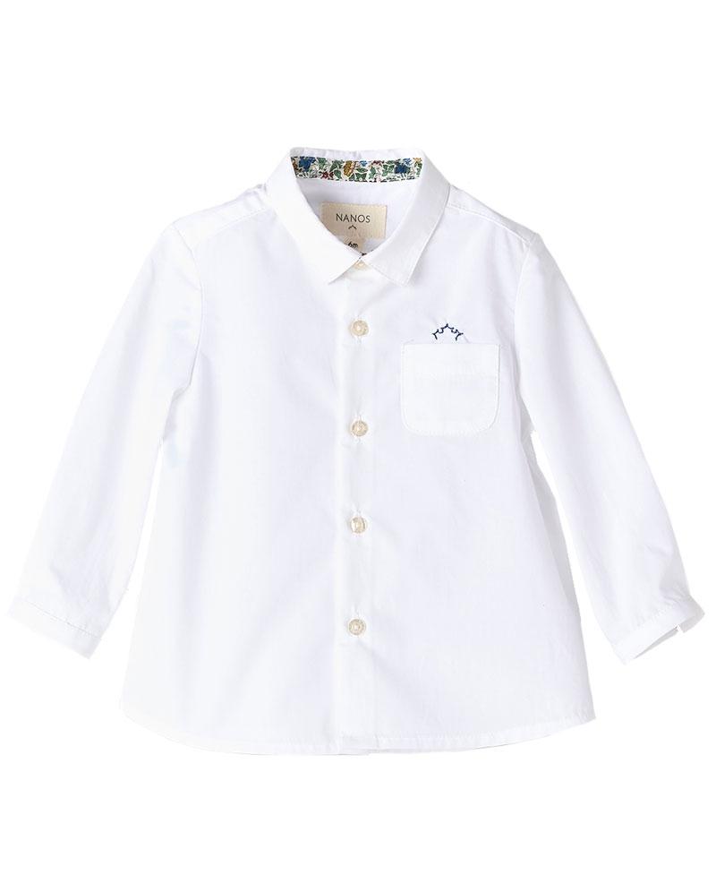 3307b7aad Camisa Viella Blanco NANOS Bebe Niño - Ro Infantil