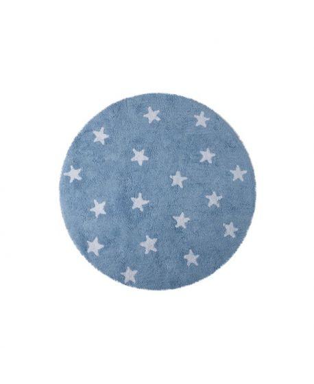 Alfombra Lavable Lorena Canals Cielo Azul