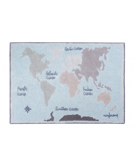 Alfombra Lavable LORENA CANALS Vintage Map