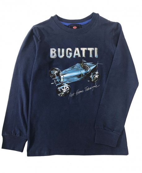 Camiseta Niño BUGATTI Marino Bólido