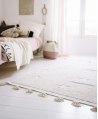 Alfombra Lavable LORENA CANALS Hippy Star Gris 120x175