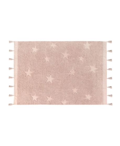 Alfombra Lavable LORENA CANALS Hippy Star Natural 120x175