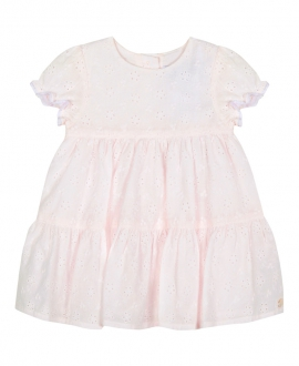 Vestido Bebe Niña TARTINE ET CHOCOLAT Rosa Palo Perforado