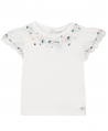 Camiseta Bebe Niña TARTINE ET CHOCOLAT Bordados Florales