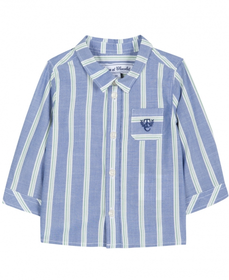 Camisa Niño TARTINE ET CHOCOLAT Azul Rayas