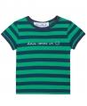 Camiseta Niño TARTINE ET CHOCOLAT Rayas Marino Verde