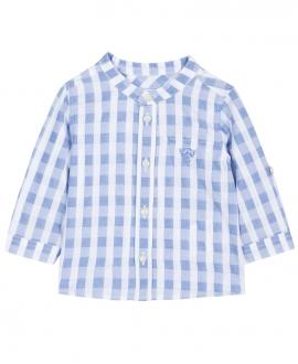 Camisa Niño TARTINE ET CHOCOLAT Cuadros Azul