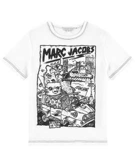 Camiseta Niño LITTLE MARC JACOB Blanca Album Nº84