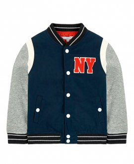 Chaqueta Niño LITTLE MARC JACOB Marino y Gris NY