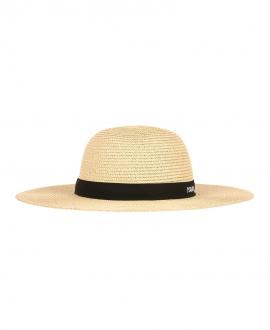 Sombrero Niña KARL LAGERFELD Paja Trenzada
