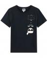 Camiseta Niño KARL LAGERFELD Negro Bad Boy