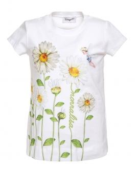 Camiseta Niña MONNALISA Margaritas Hada