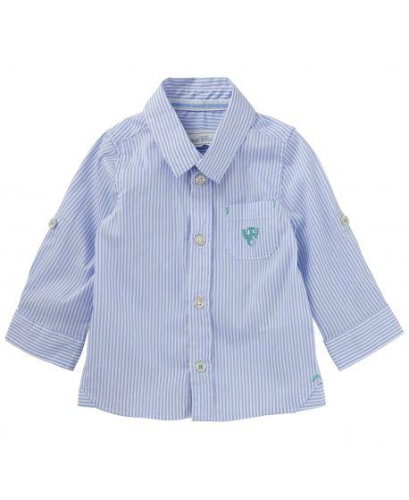 Camisa Tartine et Chocolat Azul Bebé