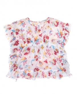 Vestido Bebé Niña MONNALISA Print La Sirenita
