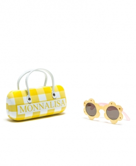 Gafas Niña MONNALISA Flor Amarillo Transparente