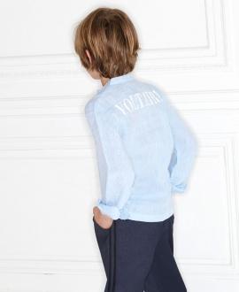 Camisa NIño ZADIG & VOLTAIRE Azul Lino