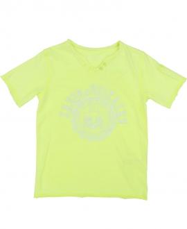 Camiseta Niño ZADIG & VOLTAIRE Flúor Cuello Tunecino