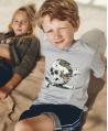 Camiseta Niño ZADIG & VOLTAIRE Gris Calavera