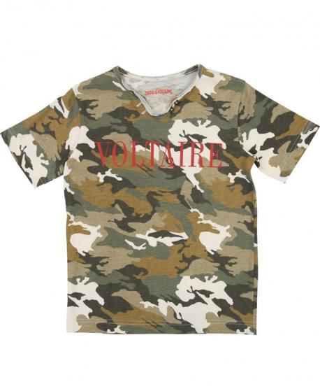 Camiseta Niño ZADIG & VOLTAIRE Camuflaje