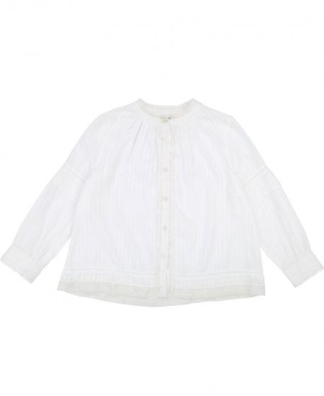 Camisa Niño ZADIG & VOLTAIRE Voilé Blanca