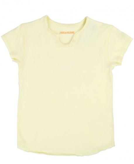 Camiseta Niña ZADIG & VOLTAIRE Punto Amarillo