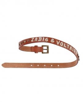 Cinturón Niña ZADIG & VOLTAIRE Piel Tachuelas